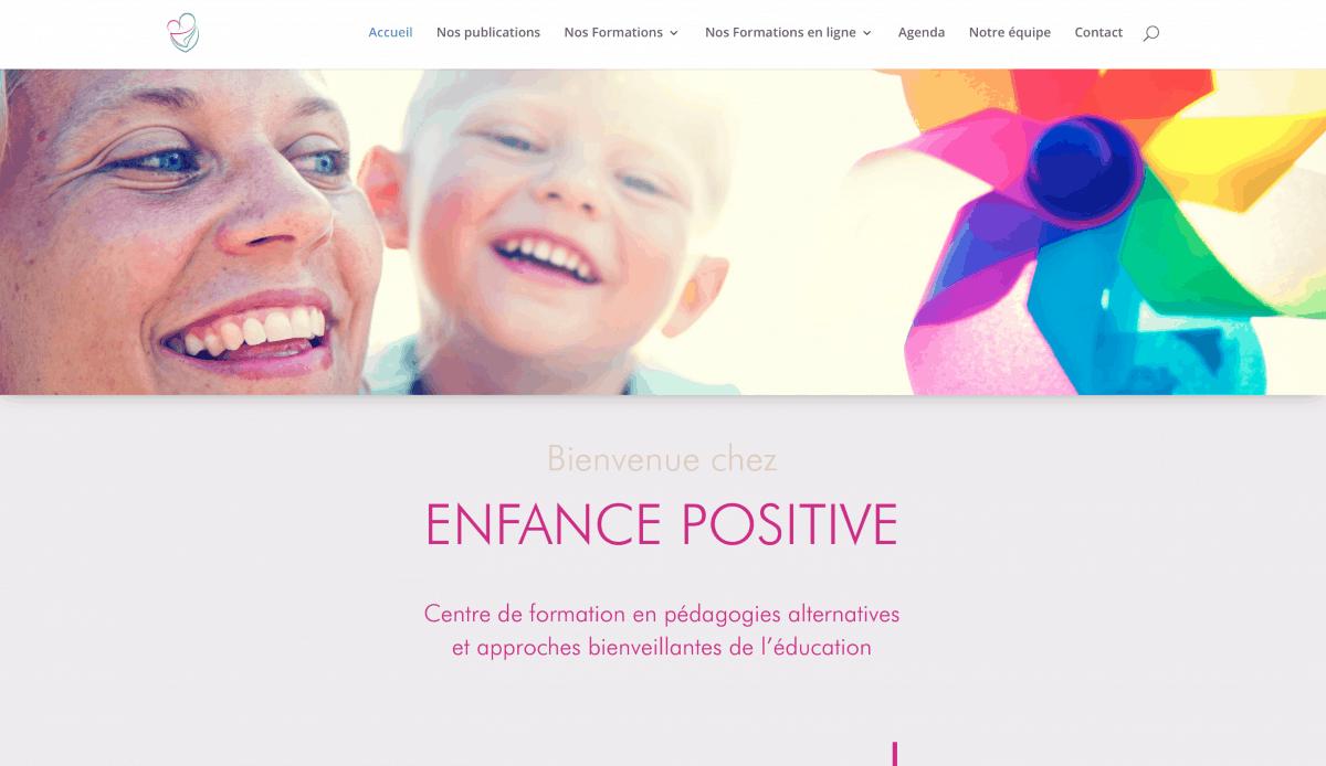 Enfance positive, formations Montessori en ligne pour les 0-3 ans