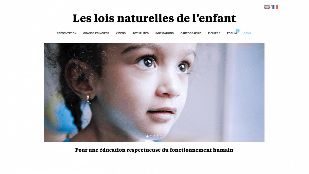 Les lois naturelles de l'enfant, blog de C&line Alvarez