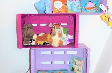 Petite rotation des jouets très fréquente pour un tout-petit