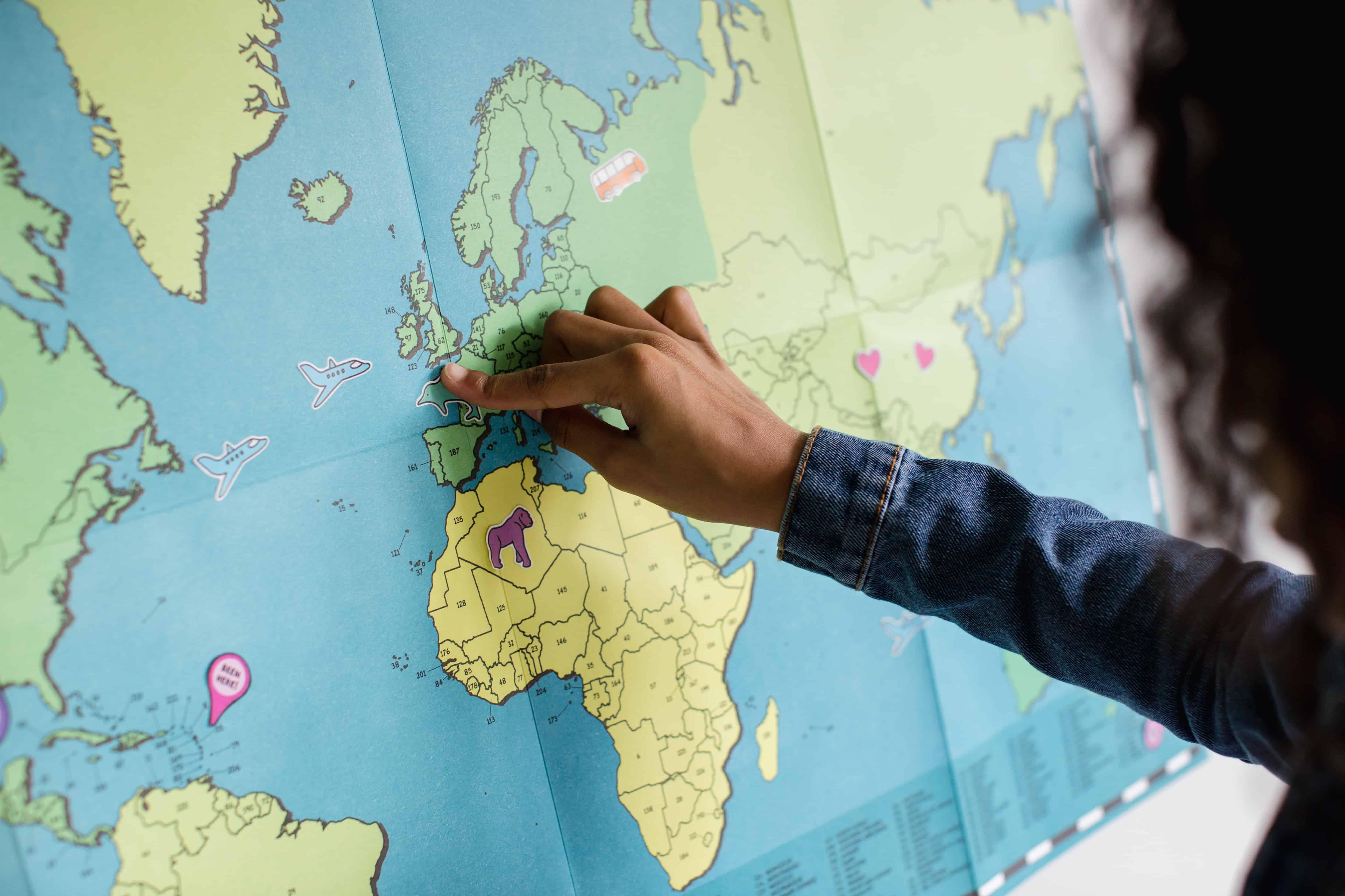 cours de géographie