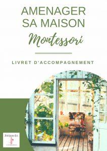 Livret d'accompagnement Aménager sa maison Montessori