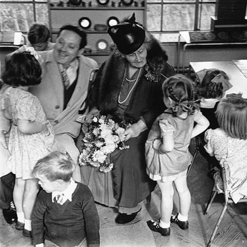 Maria Montessori fondatrice de la pédagogie Montessori