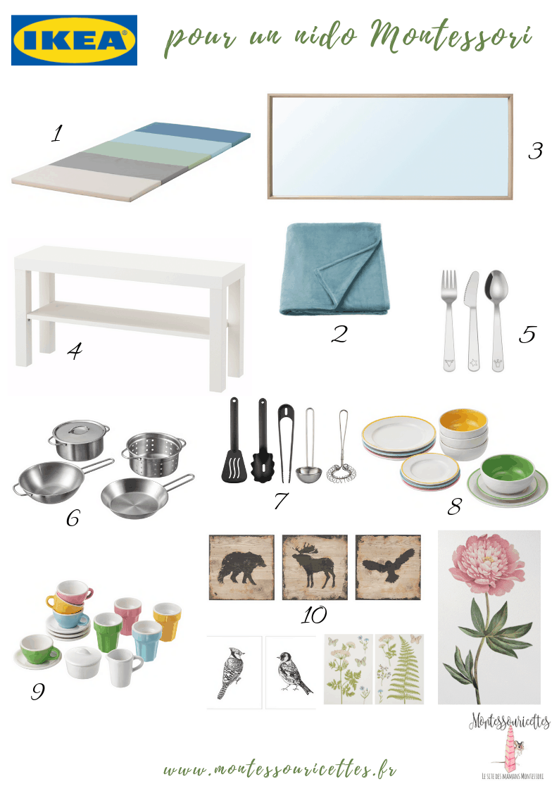 Chambre Montessori Ikea