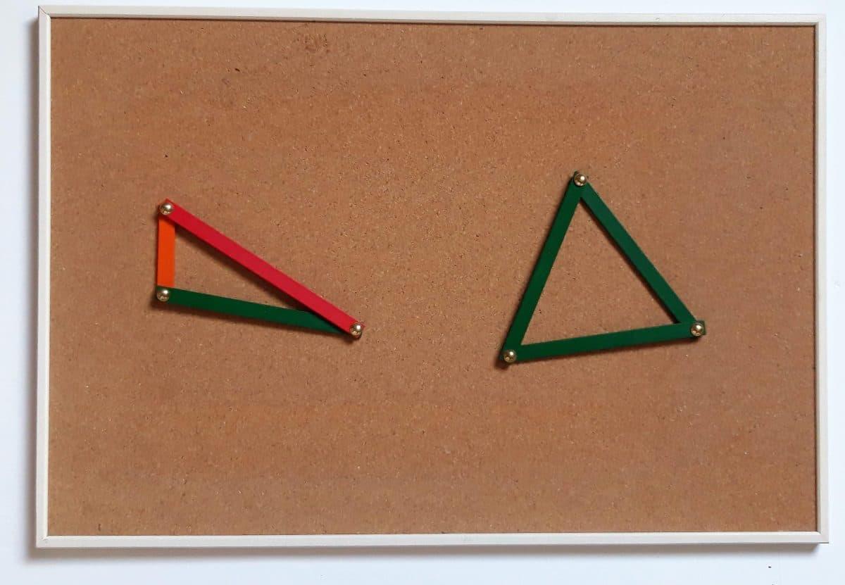 Travailler la géométrie grâce au tableau en liège IKEA
