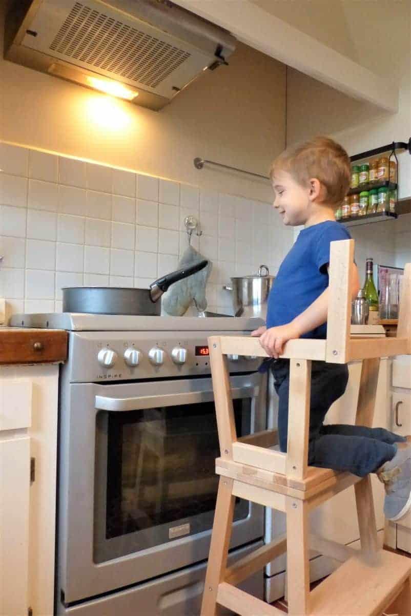 Tour d'observation avec le marchepieds IKEA