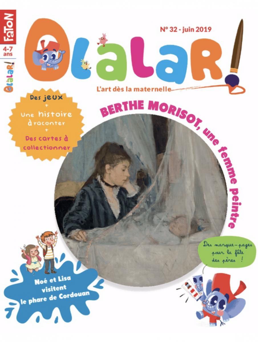 Olalar, le magazine pour les enfants qui préfèrent l'art