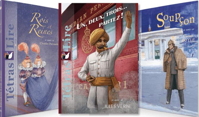 TétrasLire, le magazine pour faire découvrir les grands auteurs aux enfants