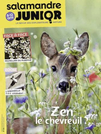 La Salamandre Junior, magazine nature pour les plus grands enfants
