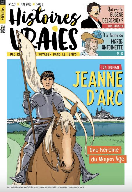 Histoires vraies magazine pour faire découvrir l'histoire d'un personnage célèbre aux enfants