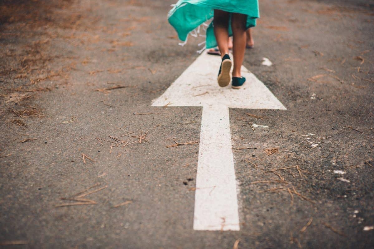 partir dans la bonne direction pour atteindre vos bonnes résolution et objectifs