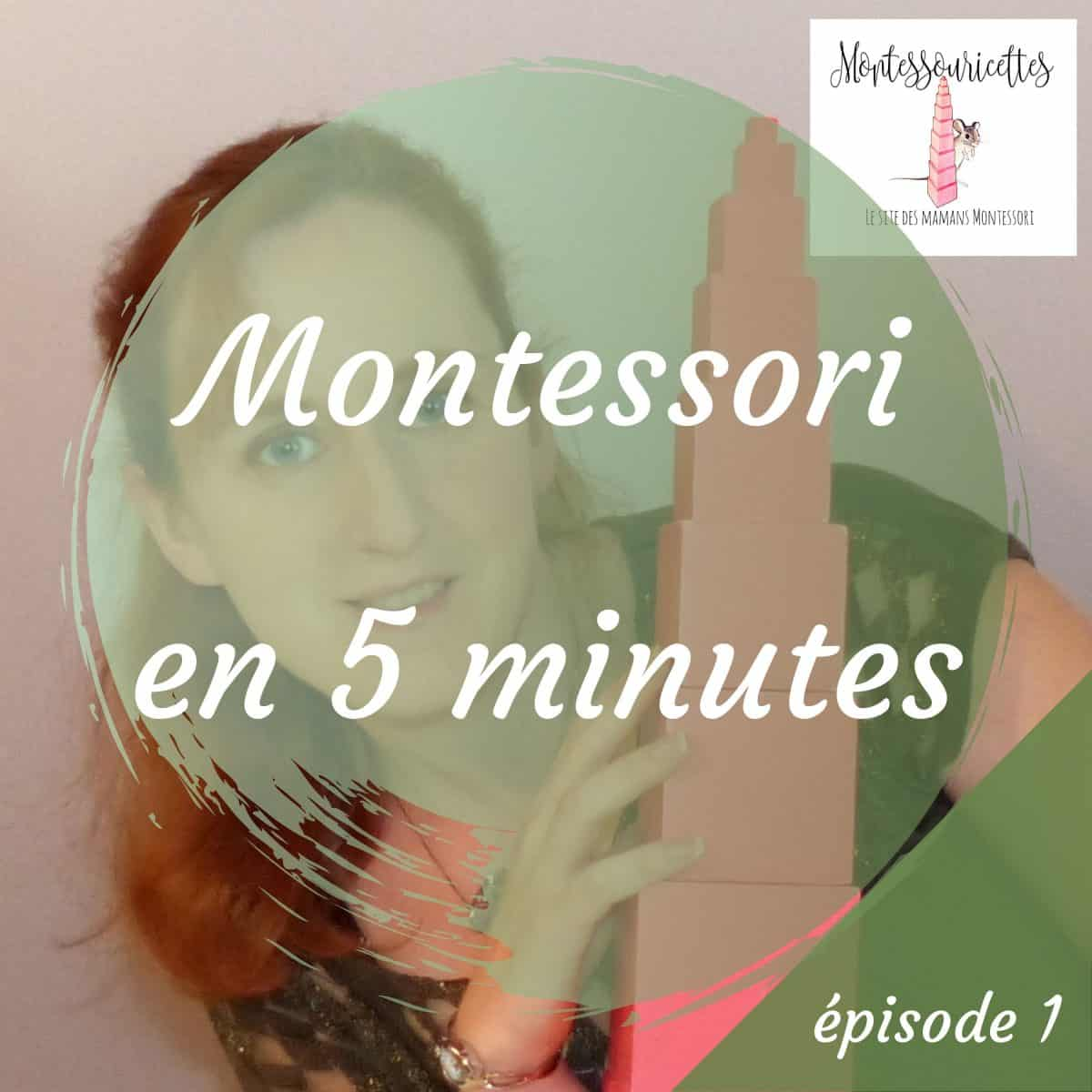 La pédagogie Montessori expliquée en 5 minutes