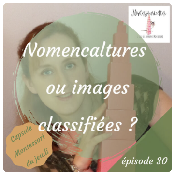Images classifiées ou cartes de nomenclature - podcast 30