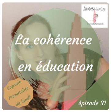 La cohérence dans l'éducation - épisode 31