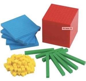 Matériel de calcul : kit de travail en base 10, méthode Singapour