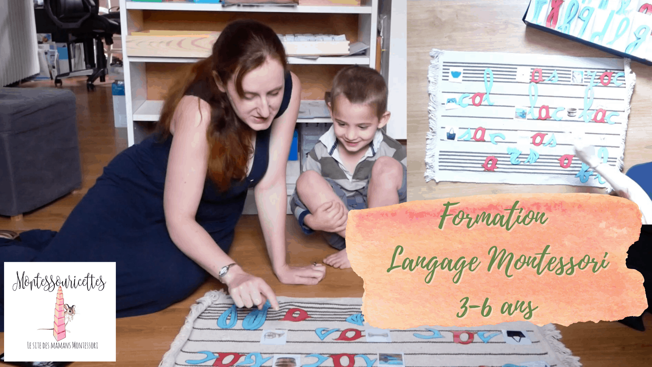 Formation langage Montessori 3-6 ans