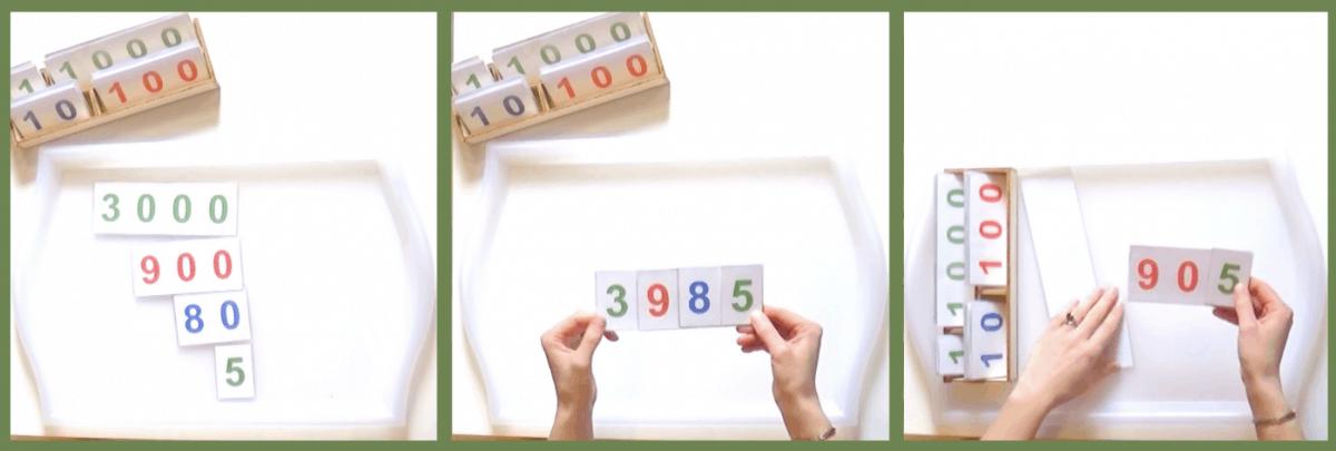La magie du nombre, un autre outil de la pédagogie Montessori pour apprendre à calculer