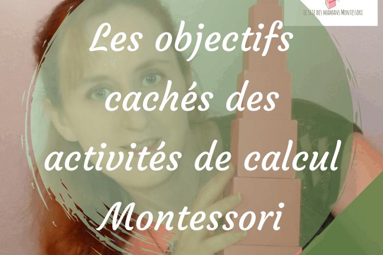 Les objectifs cachés des activités de calcul Montessori